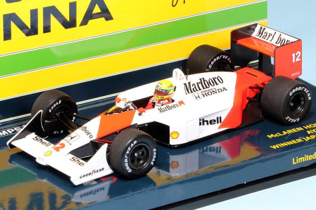 ミニチャンプス 1/43 マクラーレン MP4/4 ホンダ 日本GP 1988 Winner A.セナ デカール加工品 547884512S