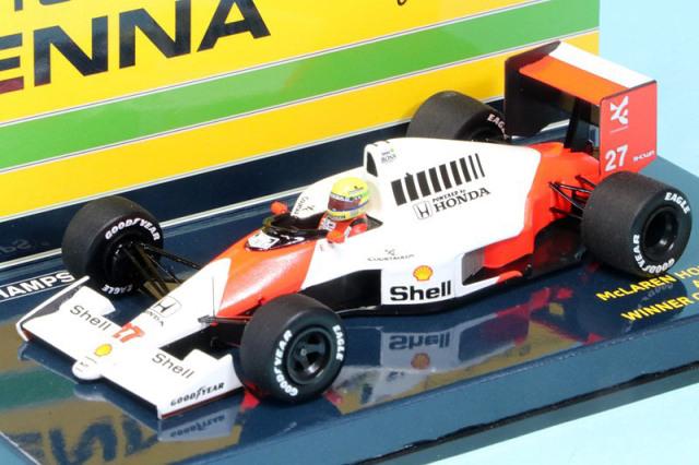 ミニチャンプス 1/43 マクラーレン ホンダ MP4/5B ドイツGP 1990 Winner A.セナ 547904427