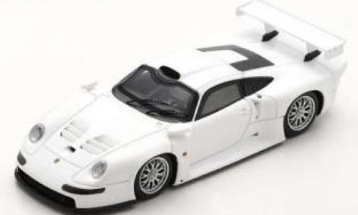 [予約] スパーク 1/43 ポルシェ 911 GT1 ストリート ver. 1996 ホワイト S5999