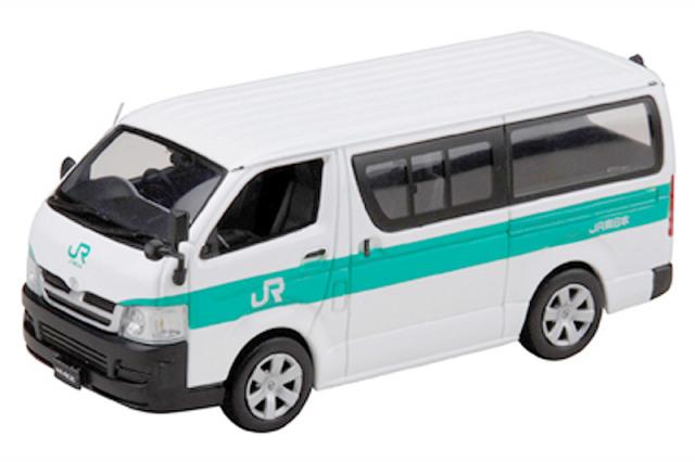 ホビージャパン 1/43 トヨタ ハイエース JR東日本 PS018 PS018