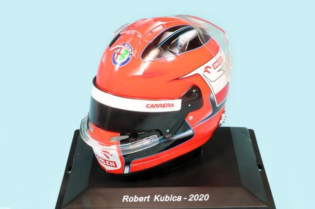 スパーク 1/5 ヘルメット R.クビサ アルファ ロメオ 2020 5HF051