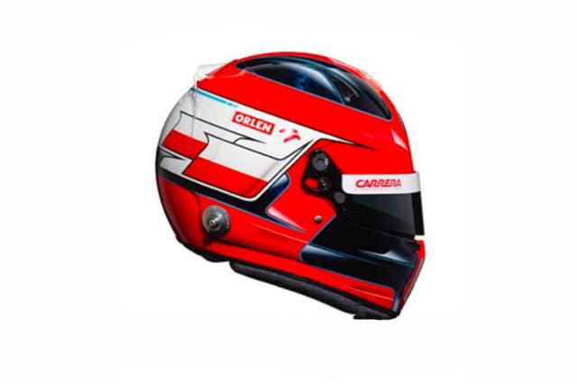 [予約] スパーク 1/5 ヘルメット R.クビサ アルファ ロメオ 2020 5HF051