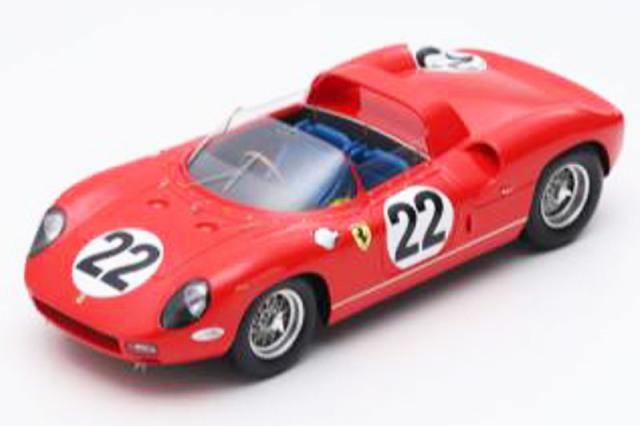 ルックスマート 1/18 フェラーリ 250P ルマン 24h 1963 3rd No.22 LS18LM07 LS18LM07