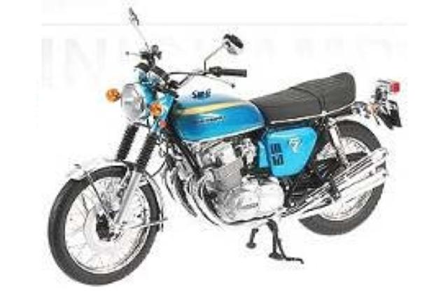 ミニチャンプス 1/6 ホンダ CB 750 K0 1968 ブルーメタリック 062161002 062161002