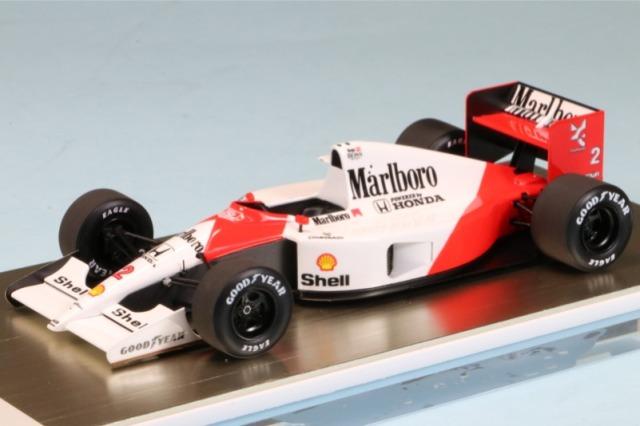 アイドロン 1/43 マクラーレン ホンダ MP4/6 USA GP 1991 No.2 G.ベルガー  デカール加工品 FE038BS FE038BS