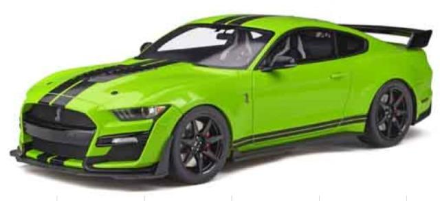 [予約] GT-SPIRIT 1/18 フォード シェルビー GT500 グリーン GTS803