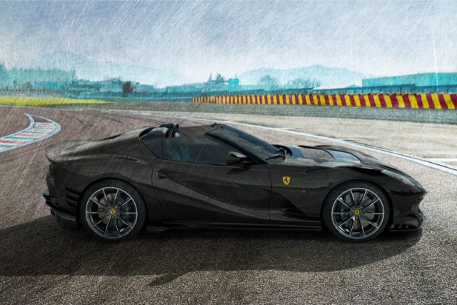 [予約] MRコレクション 1/18 フェラーリ 812 コンペティチオーネ A 2021 オープンルーフ デイトナブラック FE034F