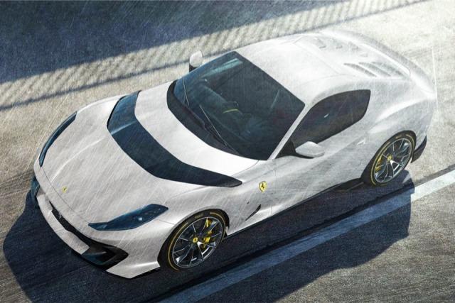 [予約] MRコレクション 1/18  フェラーリ 812 コンペティチオーネ 2021 ホワイト FE033B