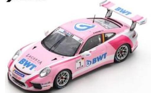 [予約] スパーク 1/43 ポルシェ 911 GT3 カップ ポルシェスーパーカップ 2018 チャンピオン No.1 S8500