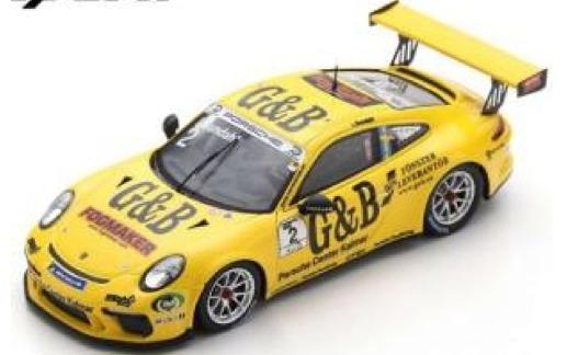 [予約] スパーク 1/43 ポルシェ 911 GT3 カップ ポルシェカレラカップ スカンジナビア 2018 No.2 S8501