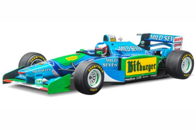 [予約] ミニチャンプス 1/8 ベネトン フォード B194 オーストラリアGP 1994 ワールドチャンピオン M.シューマッハ 851941605