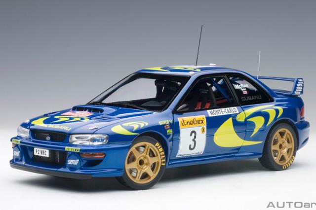 オートアート 1/18 スバル インプレッサ WRC モンテカルロラリー 1997 No.3 89790
