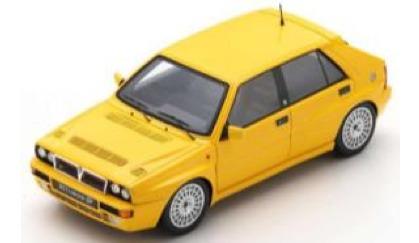 [予約] スパーク 1/43 ランチア デルタ HF インテグラーレ エボ イエロー 1993