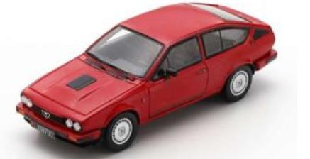 [予約] スパーク 1/43 アルファ ロメオ GTV6 1980 レッド S9047