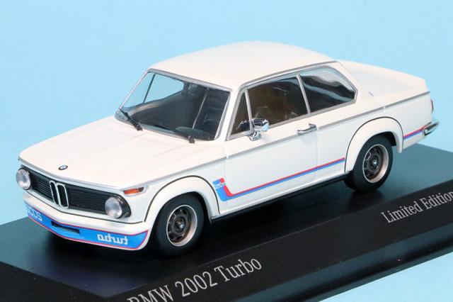 ミニチャンプス 1/43 BMW 2002 ターボ 1973 ホワイト 943022204