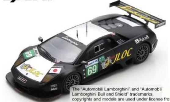 [予約] スパーク 1/43 ランボルギーニ ムルシェラゴ R-SV JLOC ルマン 2010 No.69 S9604