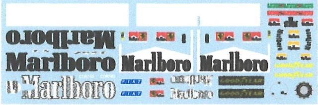 [予約] ミュージアムコレクション 1/18 フェラーリ 310B タバコロゴデカール ミニチャンプス対応 MC-D979