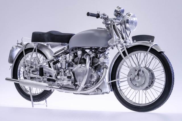 モデルファクトリーヒロ 1/9 フルディティールキット HRD ヴィンセント ブラクシャドー 1948 MFH-K567