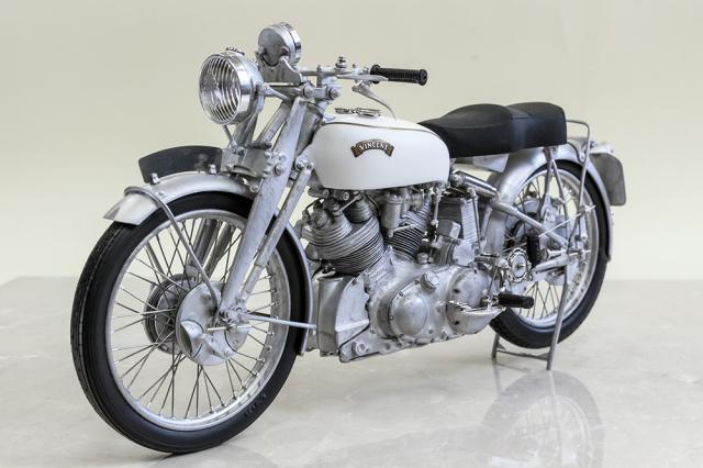モデルファクトリーヒロ 1/9 フルディティールキット ヴィンセント 後期 1950 MFH-K621