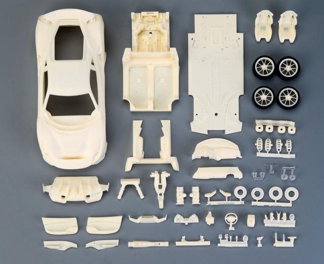 [予約] アルファモデル 1/24 レジンンキット フェラーリ 488 ピスタ AM02-0010