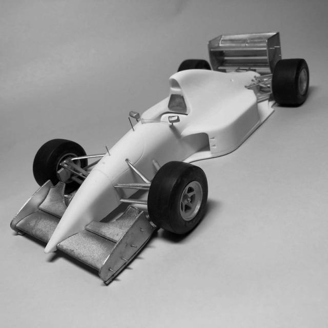 AMC 1/20 レジンキット ザウバー C12 日本 GP 1993 K.ベントリンガー J.J.レート タイヤ、シートベルトフルセット AMC-2002D