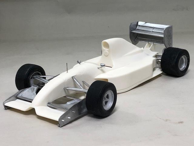 [予約] AMC 1/20 レジンキット リジェ JS37 日本GP 1992 ゴムタイヤ&シートベルトセット AMC-2101D