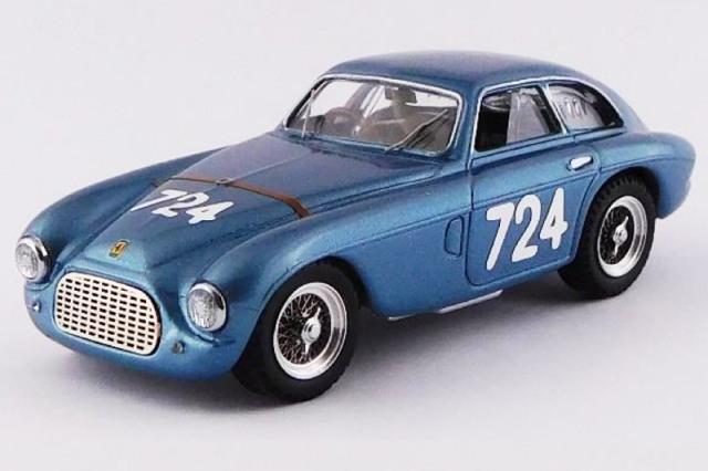 [予約] アートモデル 1/43 フェラーリ 195 S ベルリネッタ ミレミリア 1950 Winner No.724 ART004-2