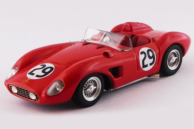 [予約] アートモデル 1/43 フェラーリ 500 TRC セブリング 12h 1957 No.29 ART424