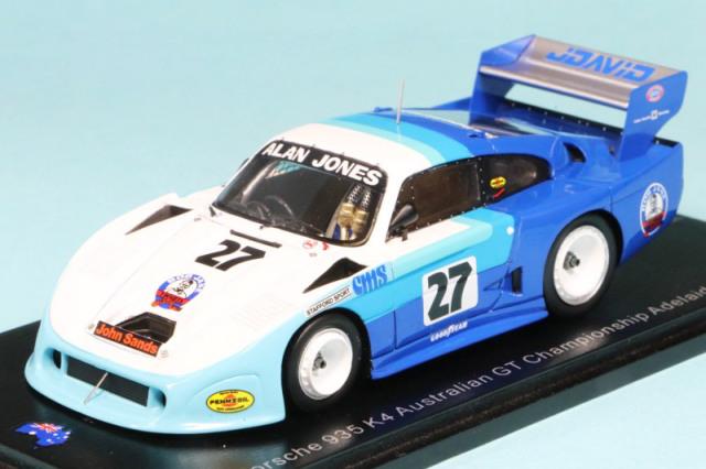 スパーク 1/43 ポルシェ 935 K4 オーストラリア GT アデレード 1983 No.27 AS051