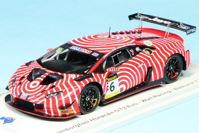 スパーク 1/43 ランボルギーニ ウアイラ GT3 バサースト 12h 2020 No.6 AS057