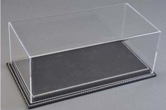 [予約] ATLANTIC CASE 1/12 Mulhouse レザーベース (厚/ブラック) & アクリルケース ATL10092
