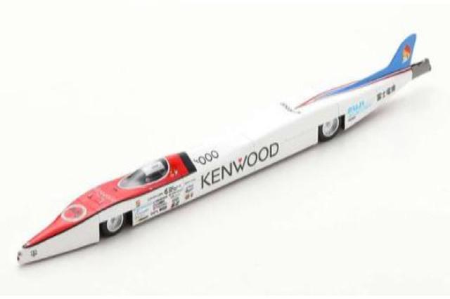 [予約] ビザール 1/43 Kenwood Electric レコードカー B1076