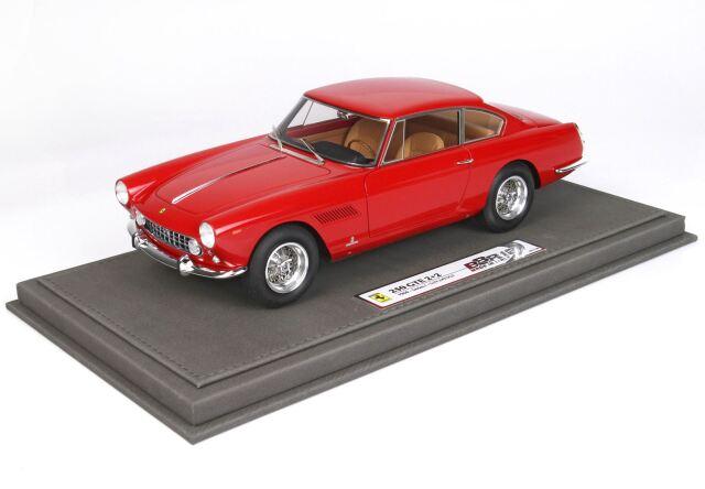 [予約] BBR  1/18 フェラーリ 250 GTE 2+2 1960 レッド  ケース付き BBR1850C