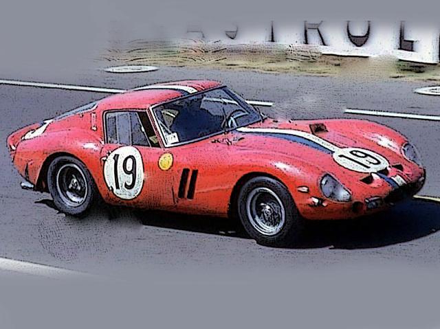 [予約] BBR 1/18 フェラーリ 250 GTO ルマン 1962 No.19 ディスプレケース付き BBR1854