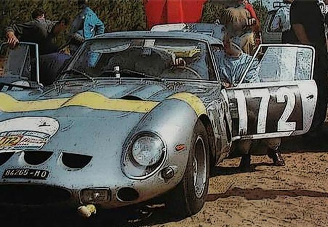 [予約] BBR 1/18 フェラーリ 250 GTO ツールドフランス 1964 No.172 ウィナー ディスプレイケース付き BBR1856