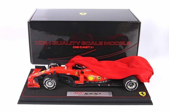 [予約] BBR 1/18 フェラーリ SF1000 オーストリアGP 2020 C.ルクレール(ダイキャストモデル) BBR201816DIE