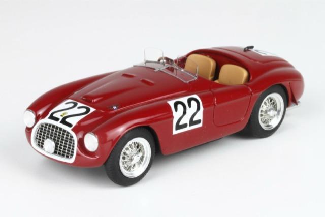 BBR 1/43 フェラーリ 166 MM ルマン 1949 No.22 ウィナー BBR68A