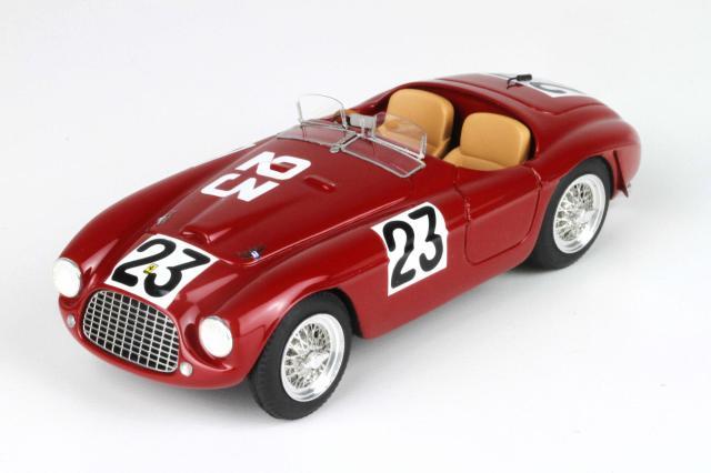 [予約] BBR 1/43 フェラーリ 166 MM ルマン 1949 No.23 BBR68D