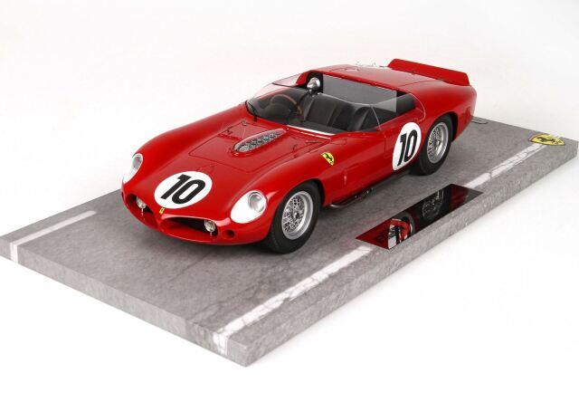 [予約] BBR 1/18 フェラーリ 250 TR61 ルマン 1961 No.10 ディスプレイケース付き BBRC1804