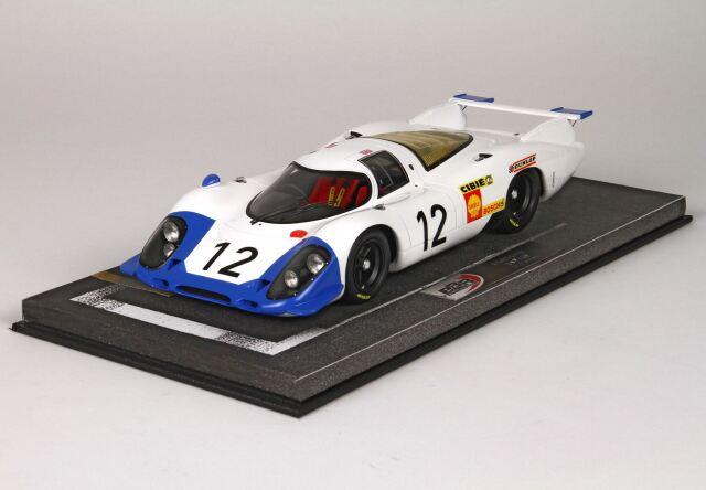 [予約] BBR 1/18 ポルシェ 917 ルマン 1969 No.12 ディスプレイケース付き BBRC1833B