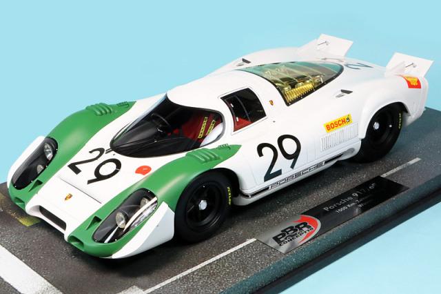 BBR 1/18 ポルシェ 917/69 ツェルトベク 1000km 1969 Winner No.29 BBRC1834 近日再入荷ご予約受付中