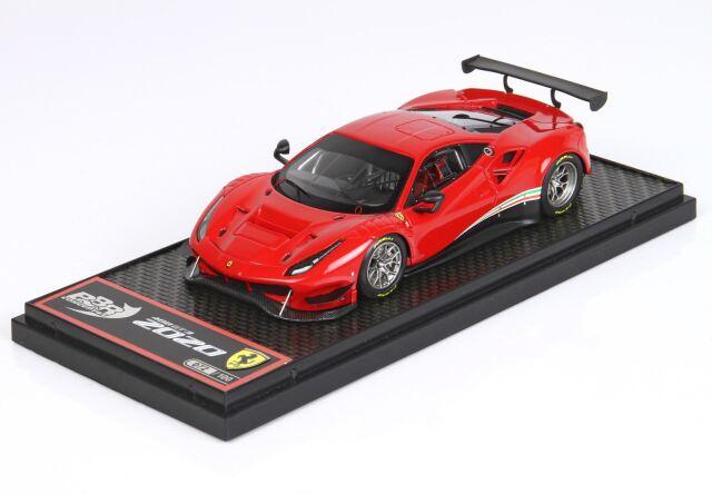 [予約] BBR 1/43 フェラーリ 488 GT3 2020 ロッソコルサ322 BBRC238RS