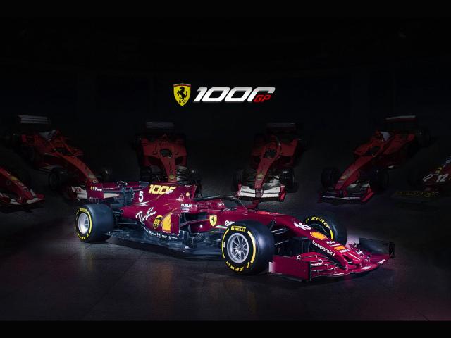 [予約] BBR 1/43 フェラーリ SF1000 トスカーナー ムジェロ GP 2020 プレス BBRC245PRE