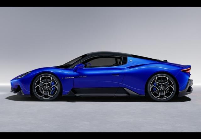 [予約] BBR 1/43 マセラティ MC20 2020 ブルー/ブラックルーフ BBRC251E