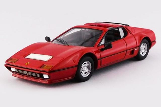 [予約] ベストモデル 1/43 フェラーリ 512BB タルガ 1981 Autokraft レッド BEST9782