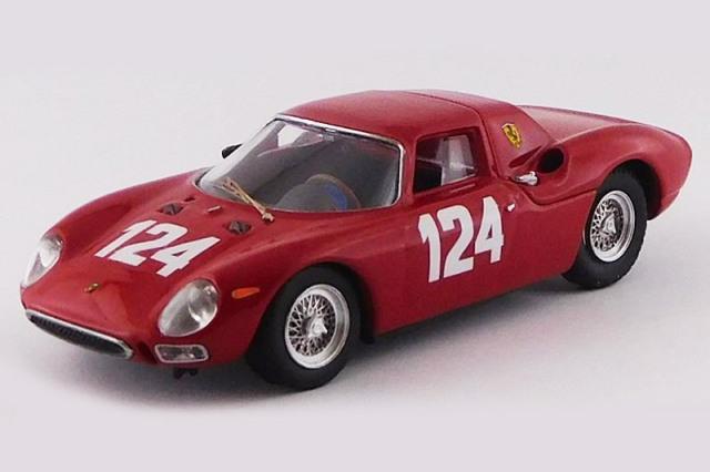 [予約] ベストモデル 1/43 フェラーリ 250 LM ムジェロGP 1965 Winner No.124 BEST9799