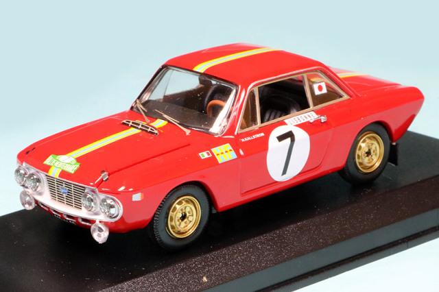 ベストモデル 1/43 ランチア フルビア クーペ 1.3 HF 地中海ラリー 1969 Winner No.7 BEST9803