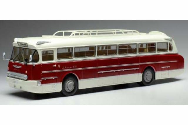 [予約] イクソ 1/43 イカロス 66 1972 ホワイト/レッド BUS025LQ