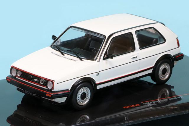 イクソ 1/43 フォルクス ワーゲン ゴルフ GTI MK.2 1984 ホワイト CLC325N