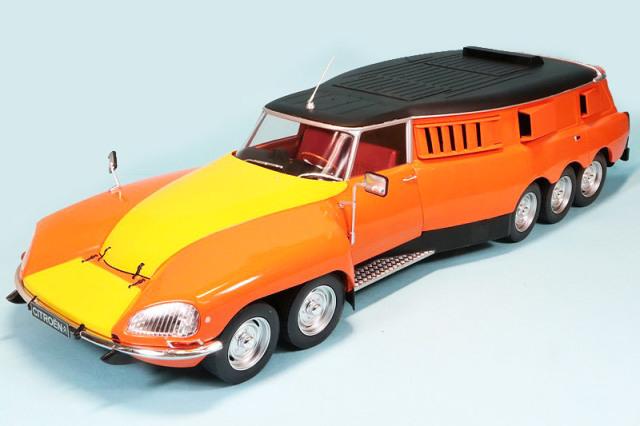 [お取り寄せ品] CMR 1/18 シトロエン DS PLR Mille-Pattes Michelin 1972 テストカー CMR137